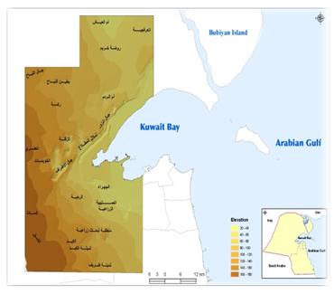 Physical Development Plan for Kuwait Third  Sub-Region