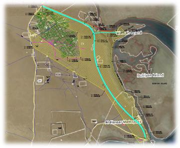 EIA study for Kuwait Subiya –Abdili Road (RA 190)