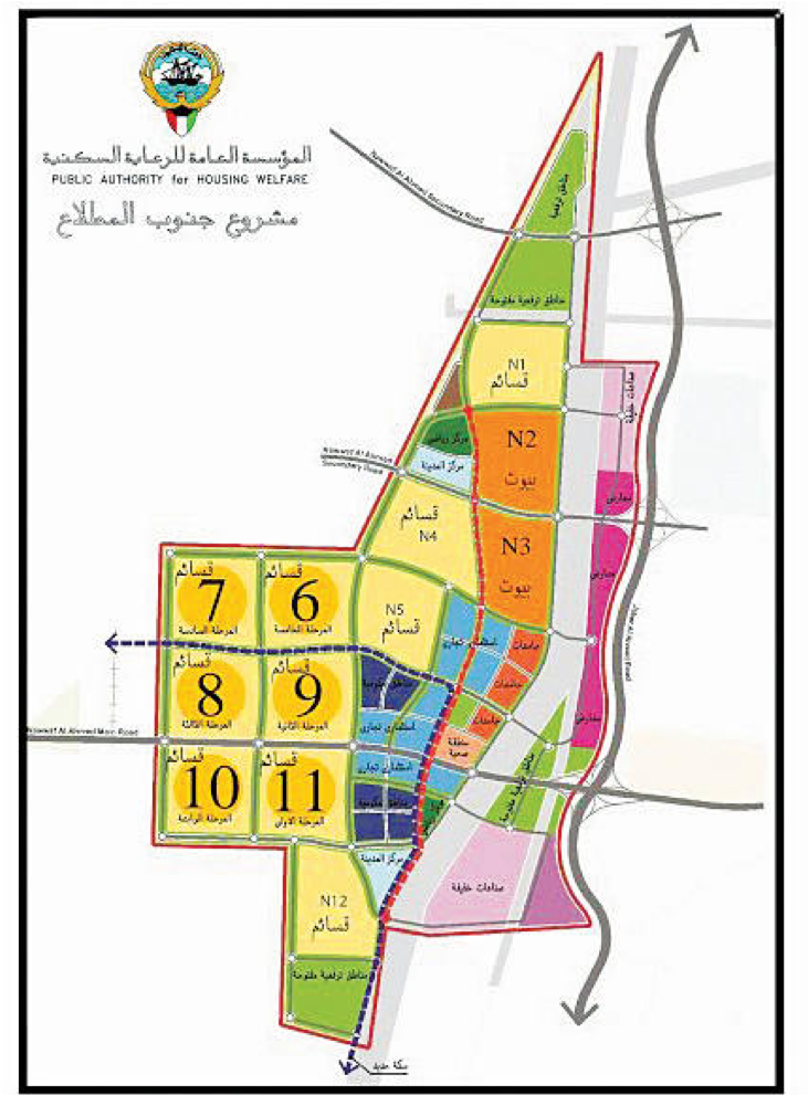 Environmental monitoring works and reporting for Tima'a Residential Area