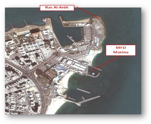 Modification of KISR-MFD Marina at Ras Al-Salmiya. 2013-2014