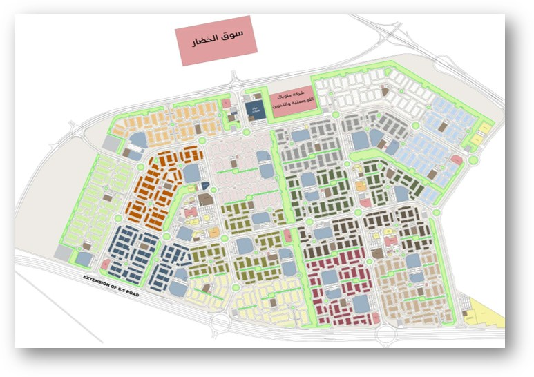 Environmental monitoring works and reporting for West Abdullah AlMubarak Residential Area. 2019-Present