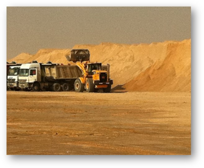 Comprehensive land use planning framework to protect sand supply sources for construction uses in Kuwait. Planning framework and regulations report. 2015-2016